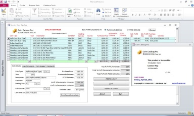 Coin Catalog Pro™ - Coin Collecting Software Screenshot