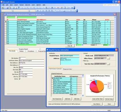 MS Access Database Consulting